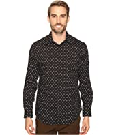Perry Ellis - Stretch Mini Star Dot Shirt