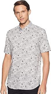 Marks & Spencer Men's Floral Slim Fit Casual Shirt
