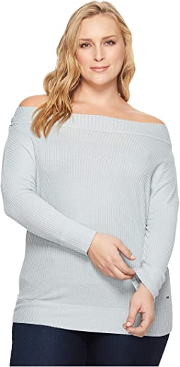 Lucky Brand - Plus Size Thermal Top