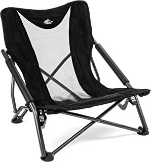 صندلی اردوگاه تاشو در فضای باز با مشخصات کم و کاملاً کم حجم Cascade Mountain Tech با کیف حمل