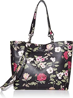 Karl Lagerfeld Paris Adele Applique Tote Bag, Black Floral