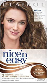 Nice 'N Easy Permanent Hair Color 6A Natural Light Ash Brown 1 Kit
