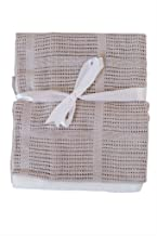 Baby Swaddle Blanket (Set of 2) 37.4 x 24.4 inches – Soft, Cozy & Hypoallergenic Swaddling Blanket for Bay Boy, Girl, Newborn, Toddlers & Infants - Perfect Baby Shower Gift for New Moms (GreyWhite)