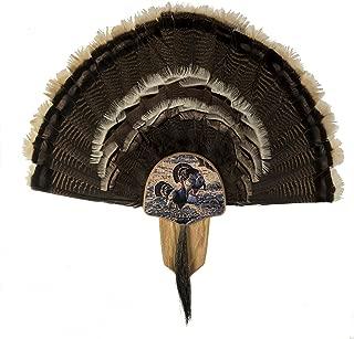 Walnut Hollow Country Turkey Fan Mount & Display Kit, Oak Grand Slam Series Merriam's Turkey Image
