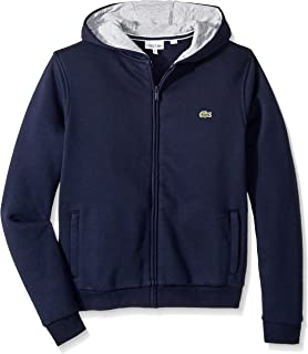 Lacoste Kids Sport Hooded Fleece Sweatshirt