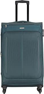 Aristocrat Polyester 69 cms Blue Suitcase (STKARW69BLU)