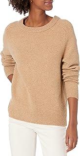 Amazon Brand - Daily Ritual Women's Cozy Boucle Crewneck Pullover Sweater