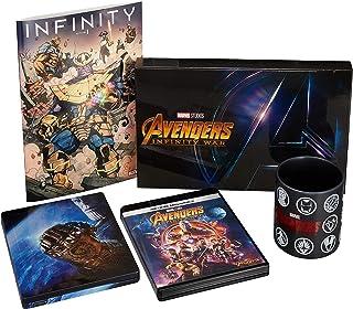 【Amazon.co.jp限定】アベンジャーズ/インフィニティ・ウォー 4K UHD MovieNEXプレミアムBOX(数量限定) オリジナルマグカップ付 [Blu-ray]