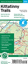 Kittatinny Trails Map: Delaware Water Gap National Recreation Area, High Point State Park, Stokes State Forest, Worthington State Forest