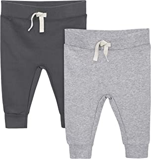 Grow by Gerber Baby Boys Organic 2-Pack Pants