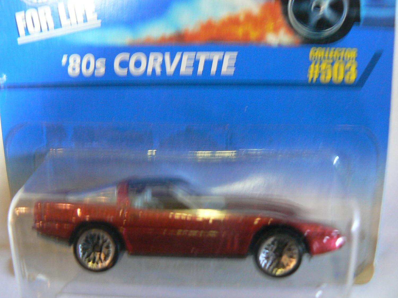 mejor precio Hot Wheels '80s Corvette  503 Wire Wire Wire Spokes by Mattel  orden ahora con gran descuento y entrega gratuita