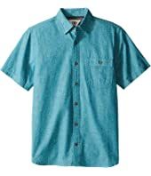 VISSLA Kids - Ulladulla Short Sleeve Woven with All Over Print (Big Kids)