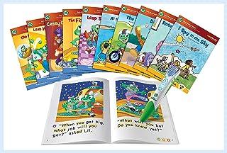 LeapFrog LeapReader System Learn to Read 10 Book Bundle