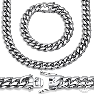 8mm miami cuban link chain