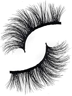 Cosmo 3D Mink Eyelashes | Natural & Dramatic Looking | 100% Handcrafted & Cruelty Free | Reusable