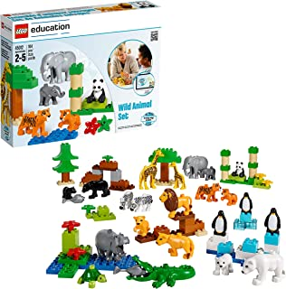 Wild Animals Set for Understanding Animal Habitats by LEGO Education DUPLO