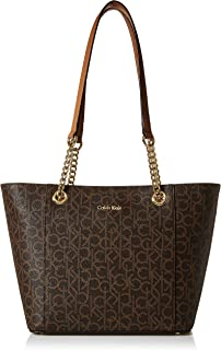 Calvin Klein Women's Hayden Saffiano Leather Tote Bag