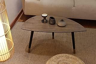 Rasoo Coffee Table, Triangle Shape End Tables for Living...