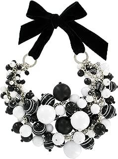 Silent Stripes Big Parade Couture Necklace