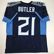 Unsigned Malcolm Butler Tennessee 2018 Blue Custom Stitched Football Jersey Size Men's XL New No Brands/Logos