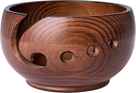 Laborwood Wooden Knitting Bowl