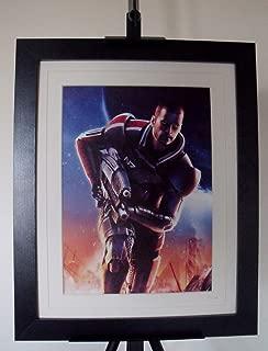 Mass Effect 2 Commander Shepard Limited Edition Art Print