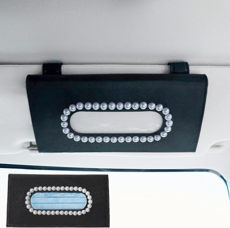 Organizador portabarbijos pañuelos para visera auto Perlas N