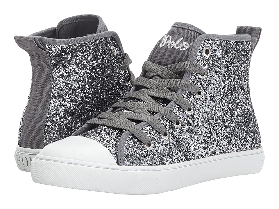 Polo Ralph Lauren Kids Hollyn (Big Kid) (Pewter Glitter) Girl