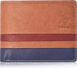 U.S. Polo Assn. Leather Wallet for Mens (Brown)