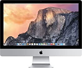 Apple iMac MF885LL/A 27-Inch Desktop (3.3 Ghz Quad-core processor,1 TB Hard Drive,8GB DDR3L) (Renewed)