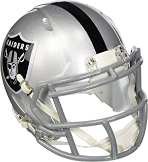 oakland raiders speed mini helmet