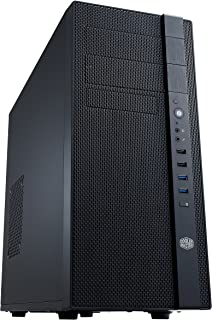 Cooler Master N400 NSE-400-KKN2 Mid-Tower Fully Meshed Front Panel Computer Case (Midnight Black)