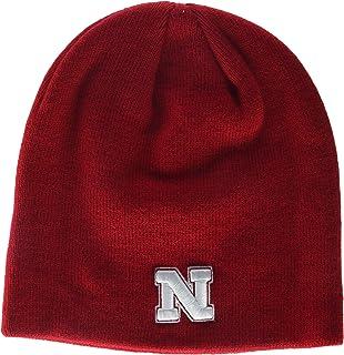 NCAA Cuffless Knit Hat One Size Nebraska Cornhuskers