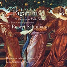 24 Caprices for Violin Solo, Op. 1, with a Piano Accompaniment by Robert Schumann: XII. Allegro