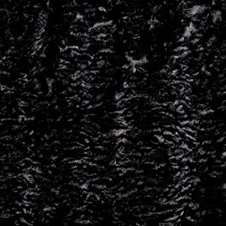 Shannon Luxe Faux Fur Persian Lamb Gray Fabric by the Yard