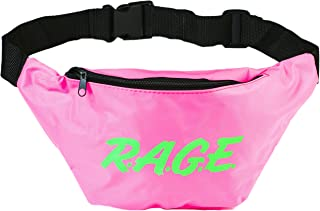 Funny Guy Mugs Premium 80's Neon Style Fanny Packs (Multiple Styles Available)