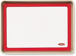 OXO Good Grips Silicone Baking Mat and Half Sheet Pan Set