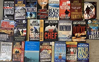 James Patterson Mystery Novel Collection 22 Novel Set