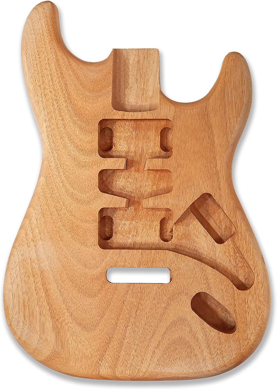 BexGears Unfinished Electric Body okoumeWood Guitar Los Angeles Mall Spasm price