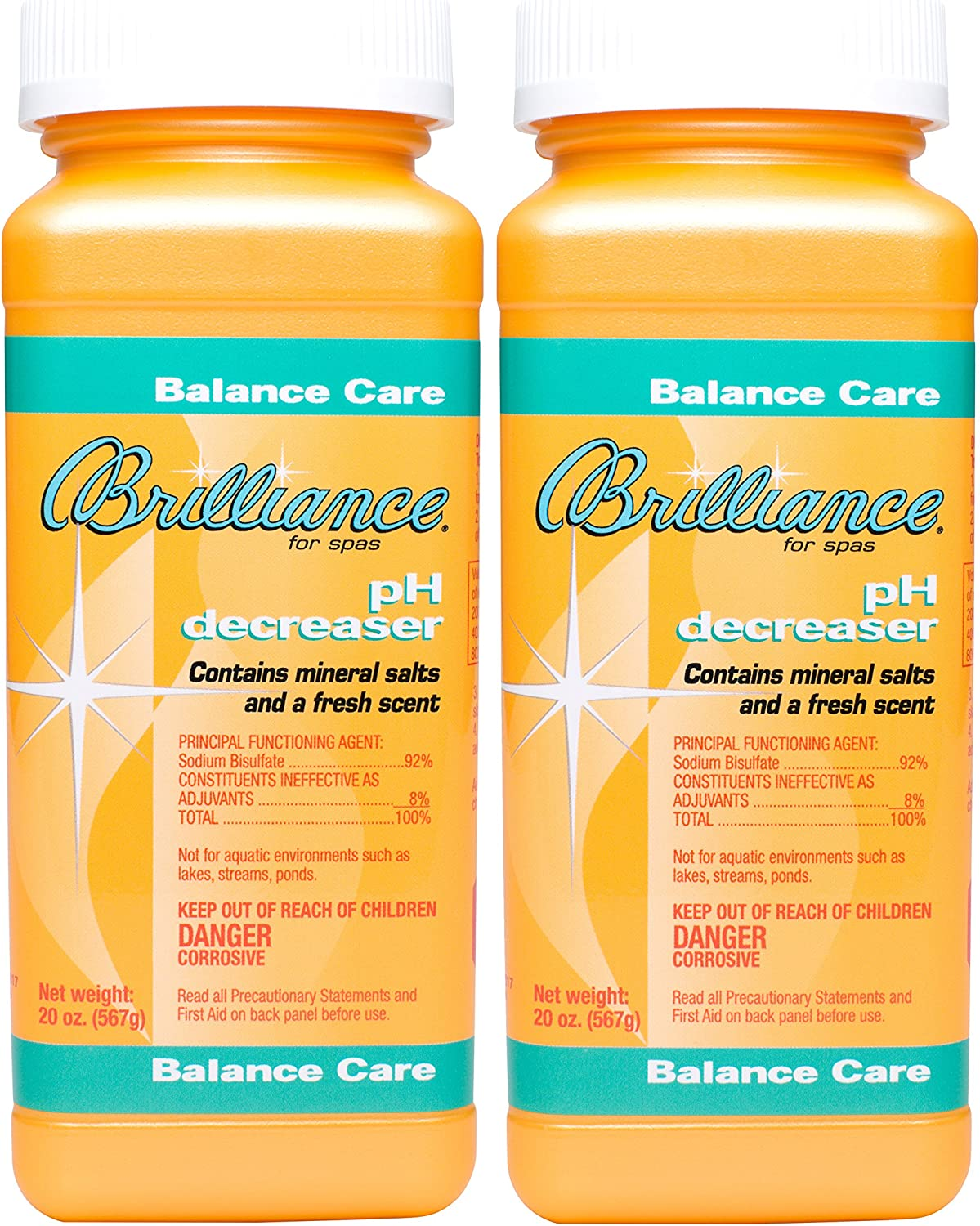 Brilliance for Spas ph 35% OFF Decreaser 20 Pack Limited time trial price - oz 2