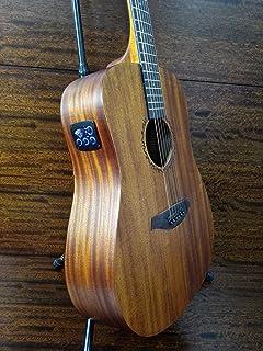 "Caraya Safair 41""EQ All Mahogany Dreadnought Acoustic Guitar,Built-in EQ+Gig Bag"