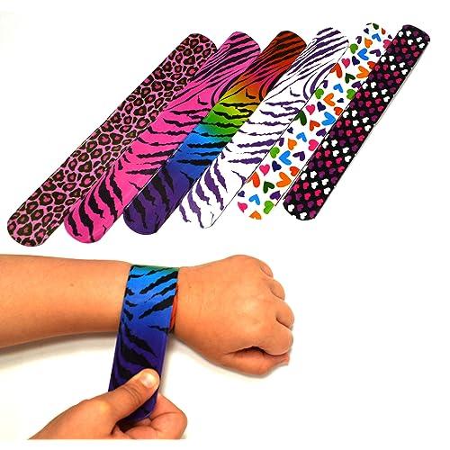 25 Mega Pack Slap Bracelets
