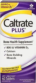 Caltrate Plus Minerals and 800iu Vitmind 60's