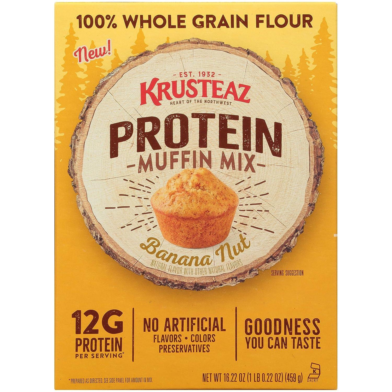 Krusteaz Protein Banana Nut 16.22 Max 83% OFF Mix Louisville-Jefferson County Mall OZ Muffin