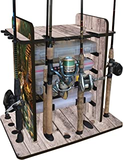 Best fishing pole rack design Reviews