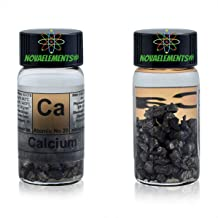 Calcium Metal Element 20 Sample Ca, Pure 3 Grams 99,99% Nice pellets Under Mineral Oil in Labeled Glass Vial