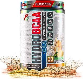 ProSupps® HydroBCAA® BCAA/EAA Full Spectrum Matrix, 7g BCAAs, 3g EAAS, 0g Sugar, 0g Carbs, (30 Servings, Texas Tea)
