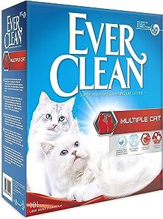 Ever Clean Arena para Gatos Multiple Cat, 10 litros, Perfumada ...
