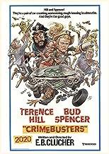Calendario de pared 2020 [12 páginas 8 x 11 pulgadas] Terence Hill y Bud Spencer Póster de película vintage