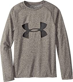 Under Armour Kids - Big Logo Long Sleeve Tee (Big Kids)